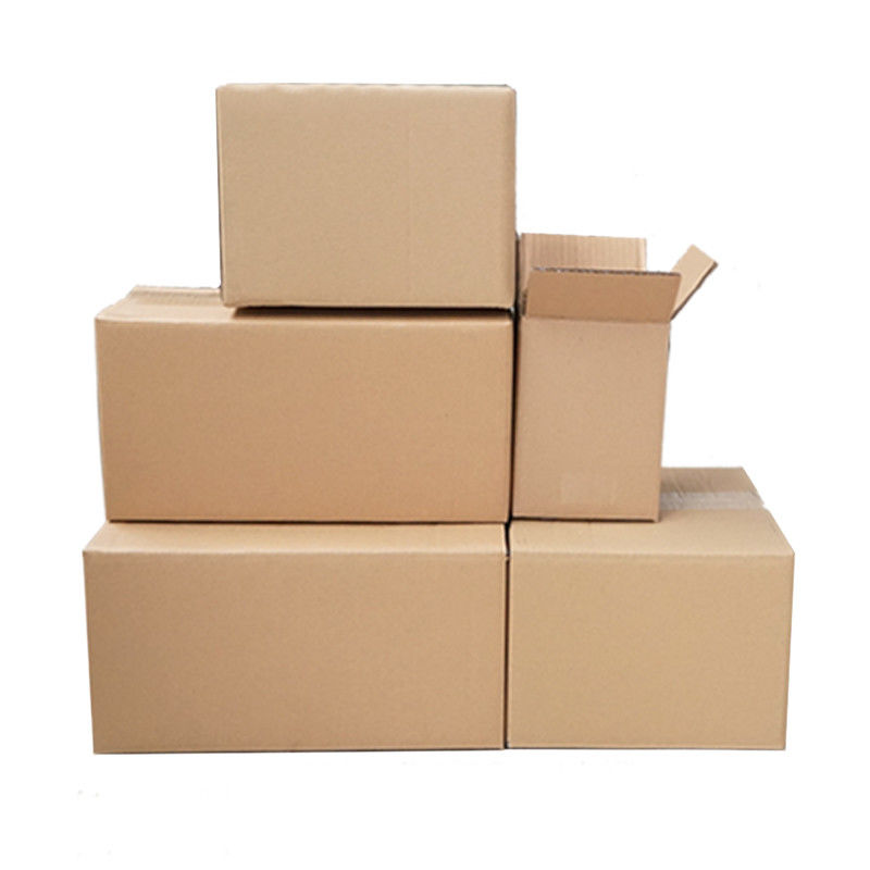 Single / Double Wall Colored Shipping Boxes For Carton Retail Packaging