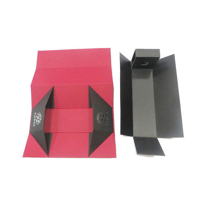 Custom Paper Printed Card Boxes / Packaging Boxes For Red Wine