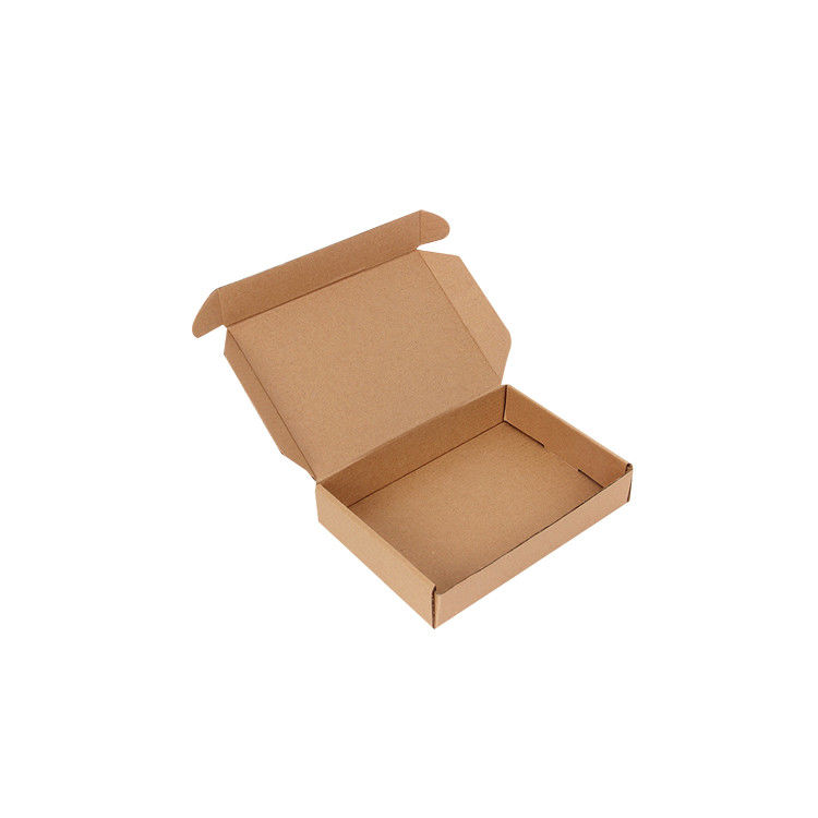 Recycled Material Printed Card Boxes , Custom Printed Retail Boxes For Gift Packaging