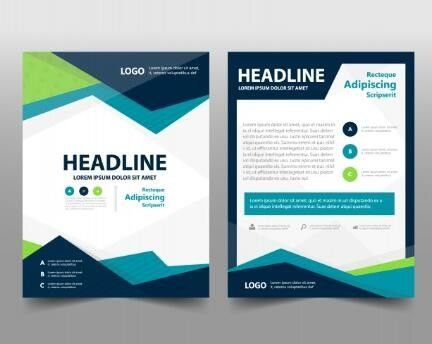 Professional Company Profile Brochure Paper Material With Custom Logo